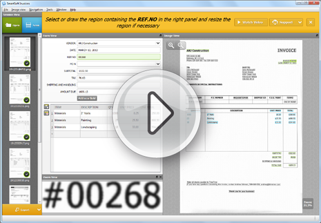 SmartSoft Invoices Automated Invoice Processing - Invoice imaging software