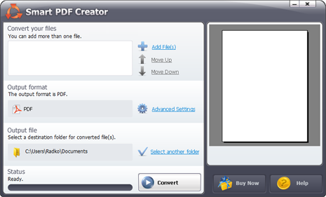 Smart PDF Creator - Convert Word to PDF